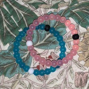 2 lokai bracelets